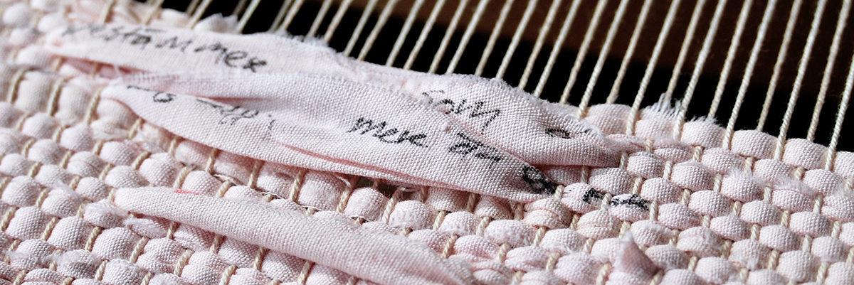 Poetic Weaving by Marie Ledendal