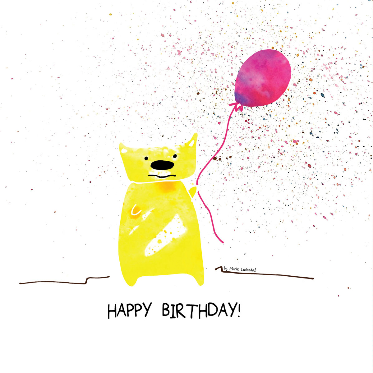 Happy-Birthday-Bear-by-Marie-Ledendal-House-of-Helmi