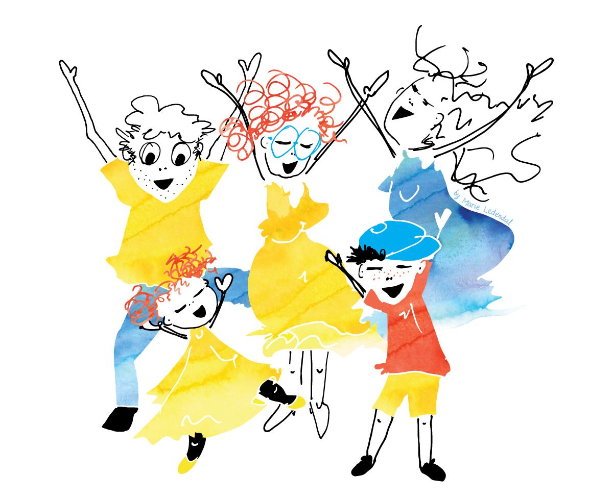 Familjedans-Nellie-Rolf-Min-vardagshalsa-illustration-by-Marie-Ledendal-House-of-Helmi-web